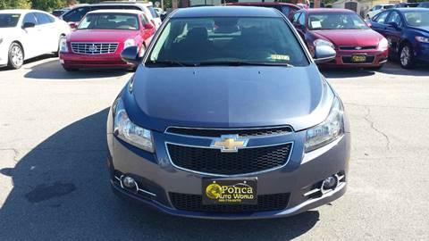 2014 Chevrolet Cruze for sale in Ponca City, OK