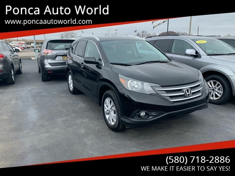 2014 Honda CR-V for sale in Ponca City, OK