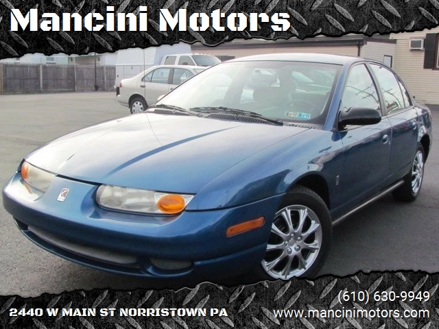 2002 Saturn S Series Sl2 4dr Sedan In Norristown Pa Mancini Motors