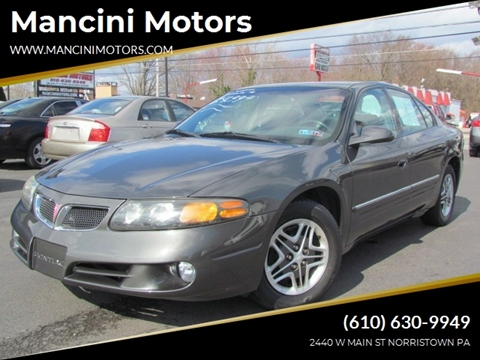 2003 Pontiac Bonneville for sale in Norristown, PA