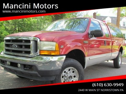 2001 Ford F-250 Super Duty for sale in Norristown, PA