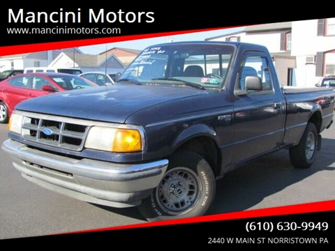 1993 Ford Ranger for sale in Norristown, PA
