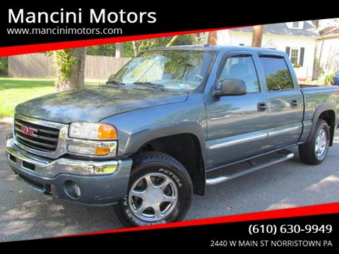 2006 GMC Sierra 1500 for sale in Norristown, PA
