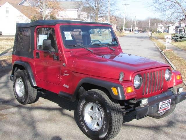 1999 Jeep Wrangler Sport (image 4)