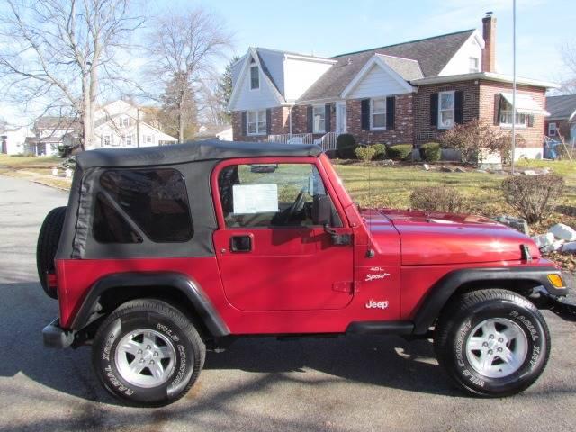 1999 Jeep Wrangler Sport (image 5)