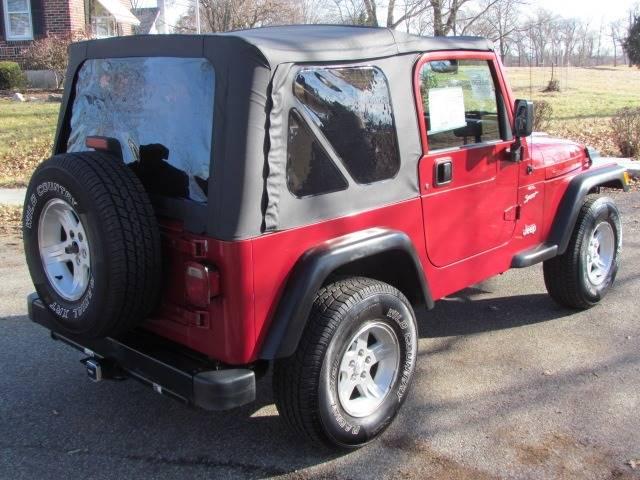 1999 Jeep Wrangler Sport (image 6)