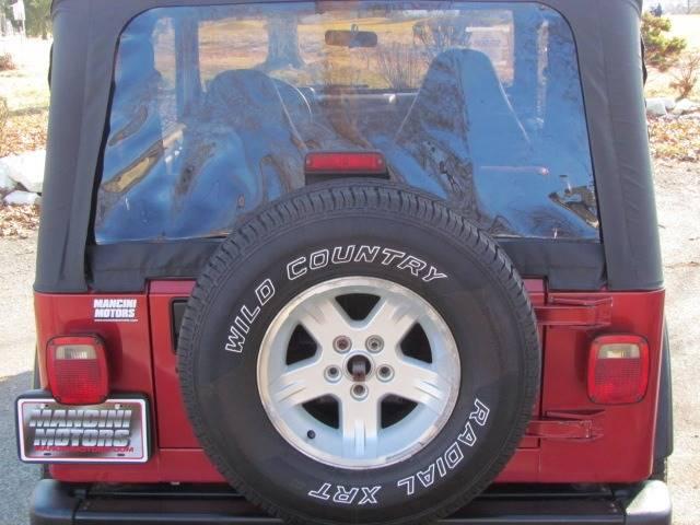 1999 Jeep Wrangler Sport (image 7)