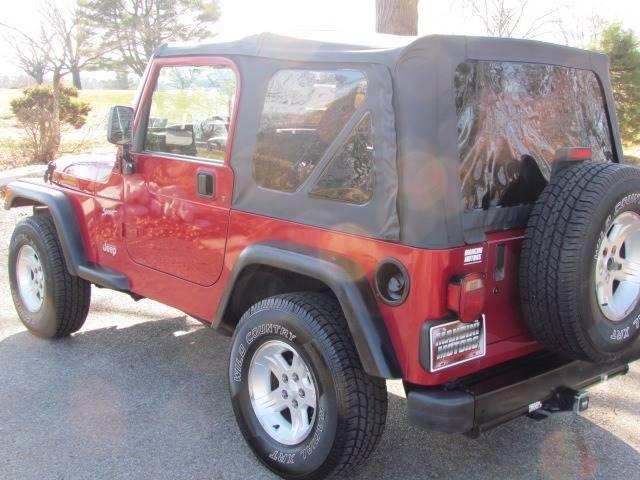 1999 Jeep Wrangler Sport (image 8)