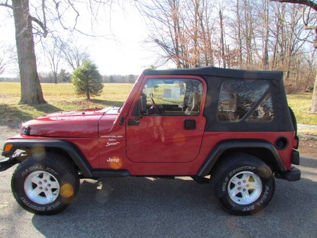 1999 Jeep Wrangler Sport (image 9)