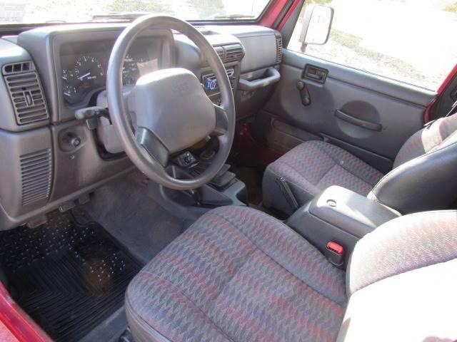 1999 Jeep Wrangler Sport (image 11)