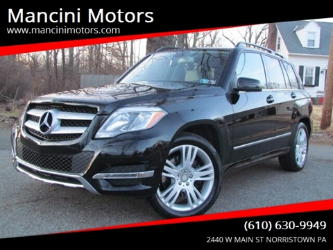 2013 Mercedes-Benz GLK GLK 350 4MATIC for sale at Mancini Motors in Norristown PA