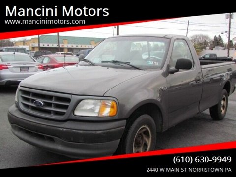 2002 Ford F-150 XL for sale at Mancini Motors in Norristown PA