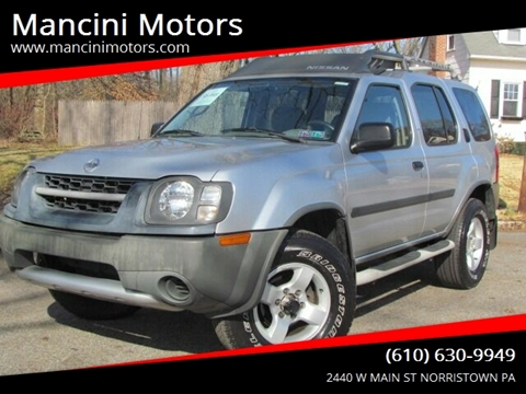 2004 Nissan Xterra XE for sale at Mancini Motors in Norristown PA