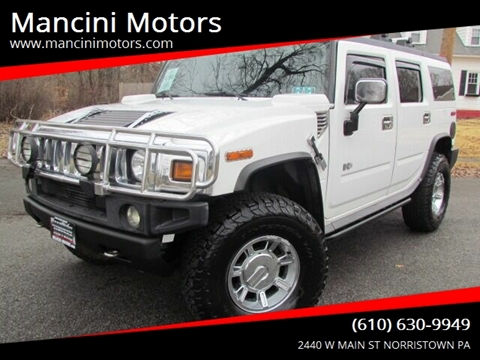 2005 HUMMER H2 for sale at Mancini Motors in Norristown PA