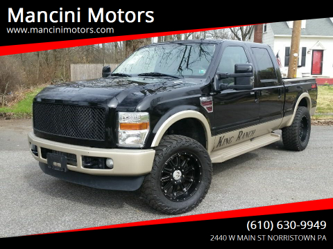 2008 Ford F-250 Super Duty FX4 for sale at Mancini Motors in Norristown PA