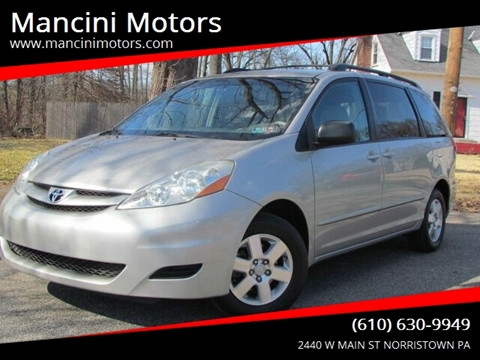 2010 Toyota Sienna LE 7-Passenger for sale at Mancini Motors in Norristown PA