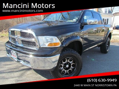 2010 Dodge Ram Pickup 1500 SLT for sale at Mancini Motors in Norristown PA