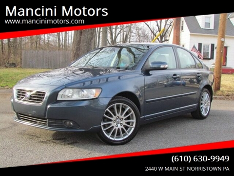 2009 Volvo S40 2.4i for sale at Mancini Motors in Norristown PA