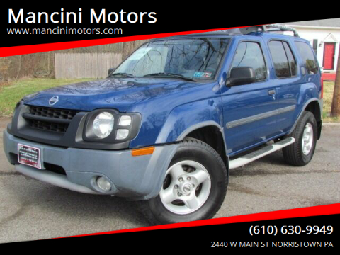 2003 Nissan Xterra XE-V6 for sale at Mancini Motors in Norristown PA