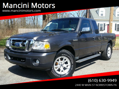 2011 Ford Ranger XLT for sale at Mancini Motors in Norristown PA