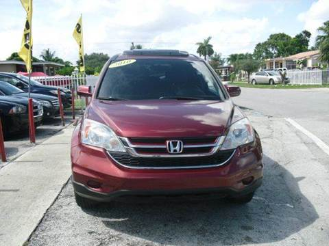 2010 Honda CR-V for sale at SUPERAUTO AUTO SALES INC in Hialeah FL