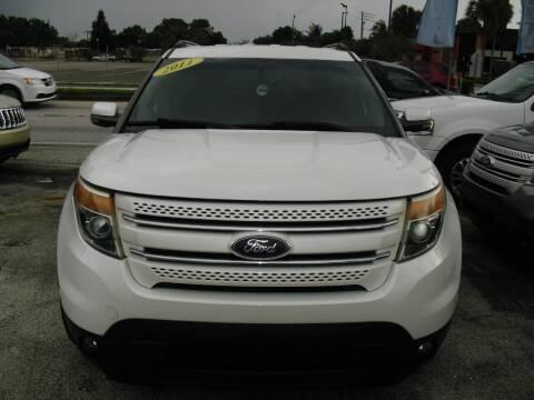 2011 Ford Explorer for sale at SUPERAUTO AUTO SALES INC in Hialeah FL