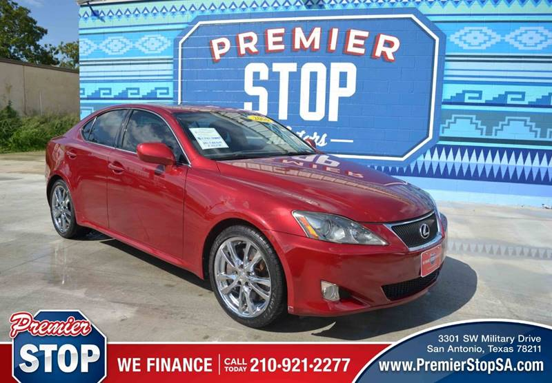 2006 Lexus IS 350 For Sale At PREMIER STOP MOTORS LLC In San Antonio TX