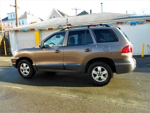 2005 Hyundai Santa Fe for sale at 5 Star Auto Sales & Service Inc in New Bedford MA