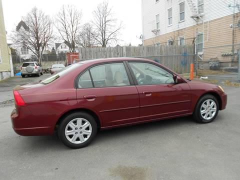 2003 Honda Civic for sale at 5 Star Auto Sales & Service Inc in New Bedford MA
