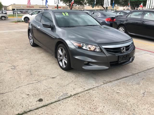 2012 Honda Accord EX L V6 2dr Coupe 5A W/Navi   Houston TX
