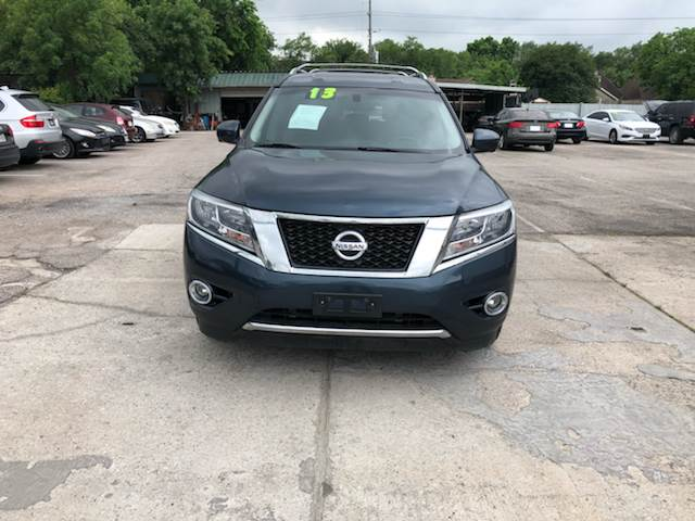 2013 Nissan Pathfinder Platinum 4dr Suv In Houston Tx Southway Motors