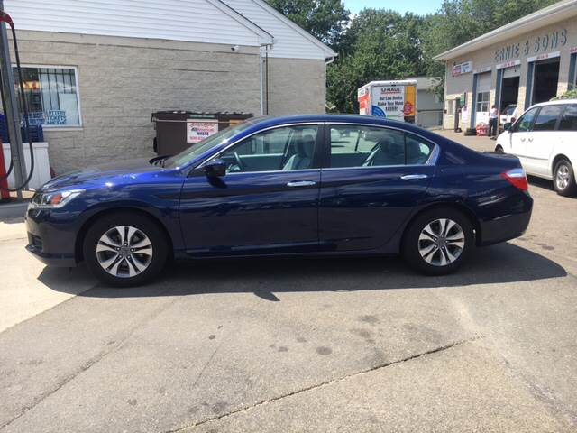 2014 Honda Accord LX 4dr Sedan CVT - East Haven CT