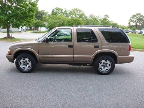 2004 Chevrolet Blazer for sale at Platinum Auto World in Fredericksburg VA