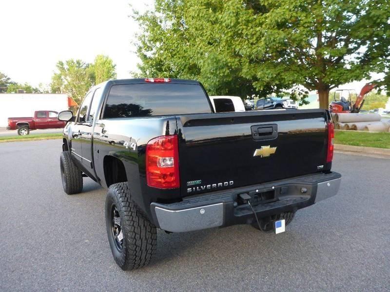 2011 Chevrolet Silverado 1500 4x4 LTZ 4dr Extended Cab 6.5 ft. SB - Fredericksburg VA