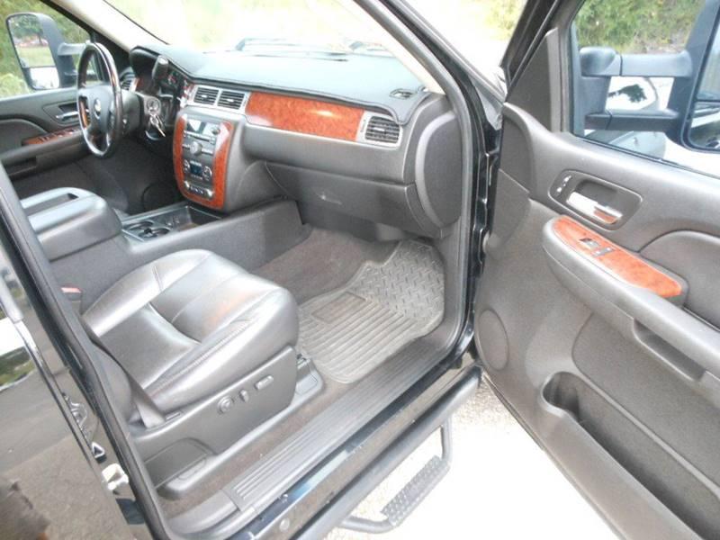 2008 Chevrolet Silverado 2500HD 4WD LTZ 4dr Crew Cab SB - Fredericksburg VA