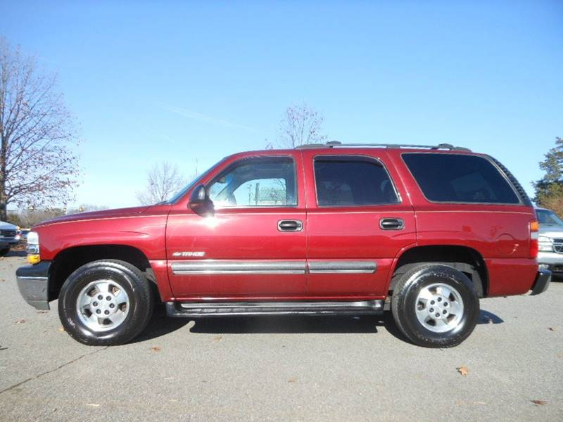2003 Chevrolet Tahoe for sale at Platinum Auto World in Fredericksburg VA