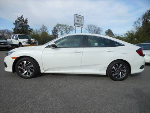 2017 Honda Civic for sale at Platinum Auto World in Fredericksburg VA