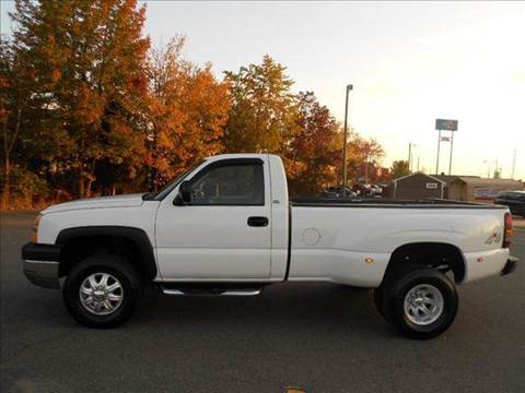 2003 Chevrolet Silverado 3500 for sale at Platinum Auto World in Fredericksburg VA