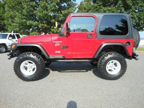 1999 Jeep Wrangler for sale at Platinum Auto World in Fredericksburg VA