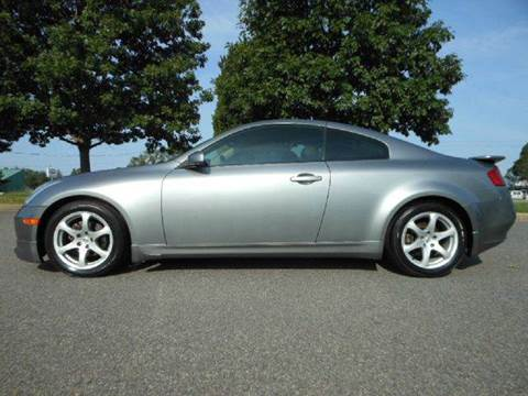 2003 Infiniti G35 for sale at Platinum Auto World in Fredericksburg VA