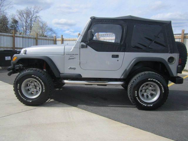 2000 Jeep Wrangler Unlimited for sale at Platinum Auto World in Fredericksburg VA