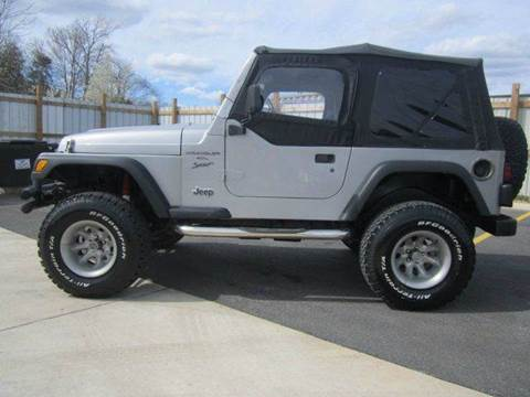 2000 Jeep Wrangler Unlimited for sale at Platinum Auto World in Fredericksburg VA