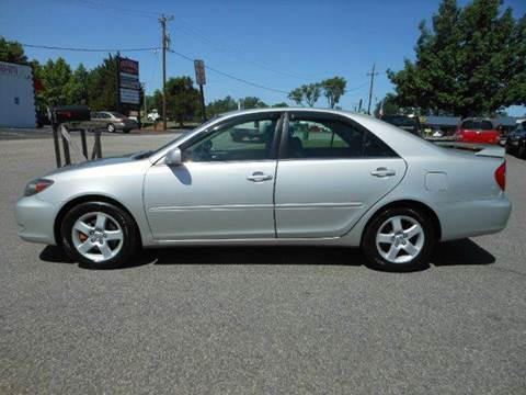 2003 Toyota Camry for sale at Platinum Auto World in Fredericksburg VA