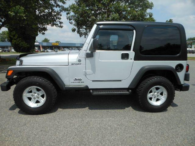 2004 Jeep Wrangler For Sale At Platinum Auto World In Fredericksburg VA