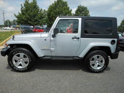 2008 Jeep Wrangler for sale at Platinum Auto World in Fredericksburg VA