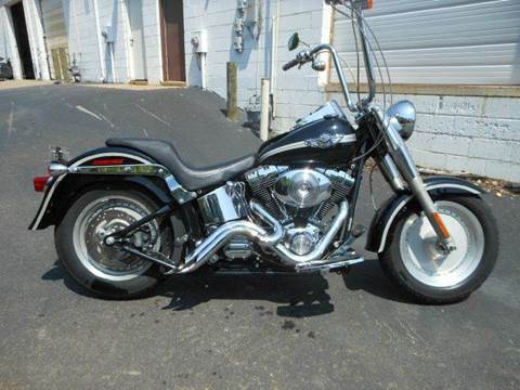 2003 Harley-Davidson FLSTF FATBOY for sale at Platinum Auto World in Fredericksburg VA