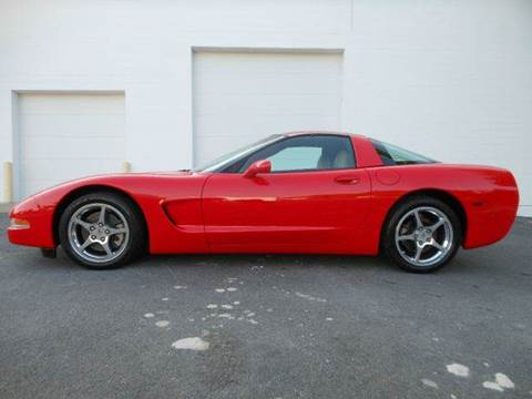 2004 Chevrolet Corvette for sale at Platinum Auto World in Fredericksburg VA