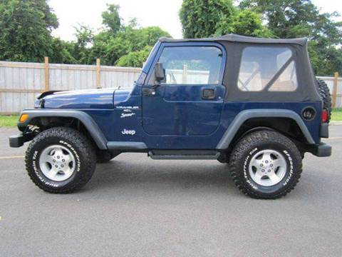 2001 Jeep Wrangler for sale at Platinum Auto World in Fredericksburg VA