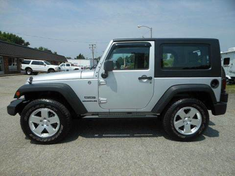 2010 Jeep Wrangler for sale at Platinum Auto World in Fredericksburg VA