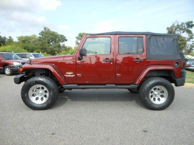 2007 Jeep Wrangler Unlimited for sale at Platinum Auto World in Fredericksburg VA